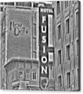 Hotel Fusion Acrylic Print