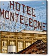 Hotel Monteleone - New Orleans Acrylic Print
