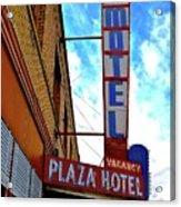 Hotel Motel Acrylic Print