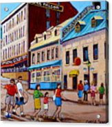 Hotel Nelson Old Montreal Acrylic Print