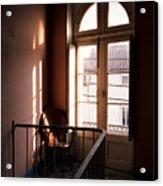 Hotel Window Acrylic Print