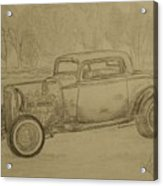 Hotrod 1934 Ford Coupe Acrylic Print