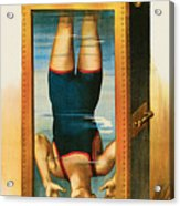Houdini Water Filled Torture Cell Acrylic Print