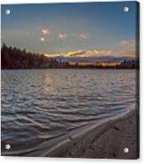 Houghton's Pond Sunset Acrylic Print