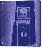 hour tower Lucca Acrylic Print