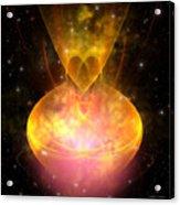 Hourglass Nebula Acrylic Print