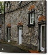 House And Street In Kilkenny Acrylic Print