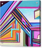 House By The Bay Acrylic Print