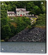 House By The Llyn Peris Acrylic Print