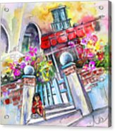 House Entrance In Garrucha Acrylic Print