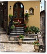 House Entrance  Acrylic Print
