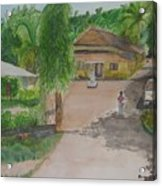 House In Goa Acrylic Print