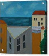 House In Jaffa  Acrylic Print