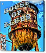 House Of Blues Orlando Acrylic Print