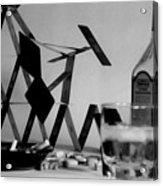 House Of Cards Acrylic Print