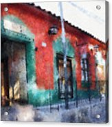 House Of El Hatillo Acrylic Print
