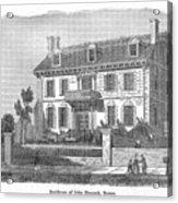 House Of John Hancock Acrylic Print