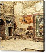 House Of Neptune Acrylic Print