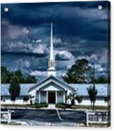 House Of Prayer Acrylic Print