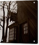 House Of Seven Gables Acrylic Print