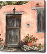 House On Delgado Street Acrylic Print