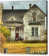 House On Elm Street Acrylic Print