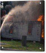 House On Fire Acrylic Print