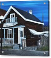 House On Hadley Street Acrylic Print
