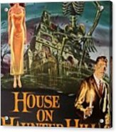 House On Haunted Hill 1958 Acrylic Print