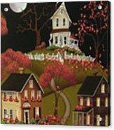 House On Haunted Hill Acrylic Print