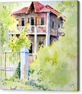 House On Jones Street Acrylic Print