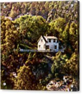 House On The Side Of The Mountain Acrylic Print