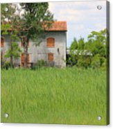 House On Torcello In Venice Acrylic Print