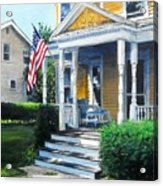 House On Washington Street Acrylic Print