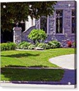 House On Wisconsin Avenue Acrylic Print