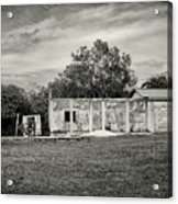 House With Outbuildings Acrylic Print