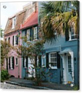 Houses In Charleston Sc Acrylic Print