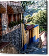 Houses Of Hatillo Acrylic Print