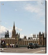 Houses Of Parliament.  Acrylic Print