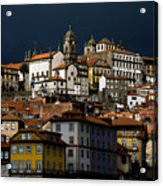 Houses Of The Slope Acrylic Print