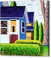 Houses Remastered Acrylic Print