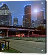Houston Above Acrylic Print