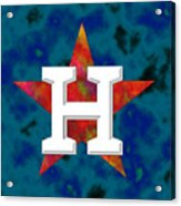 Houston Astros Logo Acrylic Print
