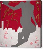 Houston Rockets Acrylic Print