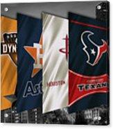Houston Sports Teams 2 Acrylic Print