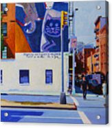 Houston Street Acrylic Print