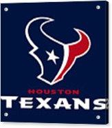 Houston Texans Acrylic Print