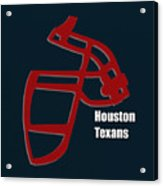 Houston Texans Retro Acrylic Print