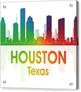 Houston Tx Acrylic Print