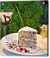 How About Dessert Acrylic Print